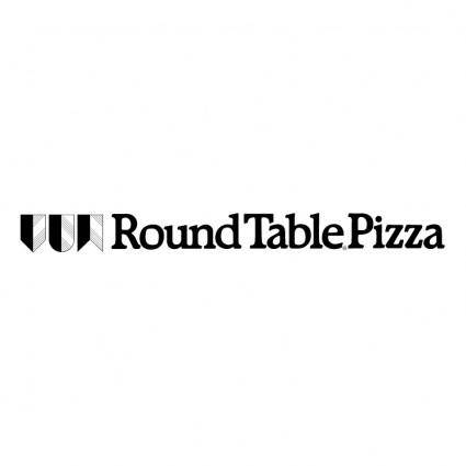 free vector Round table pizza 5