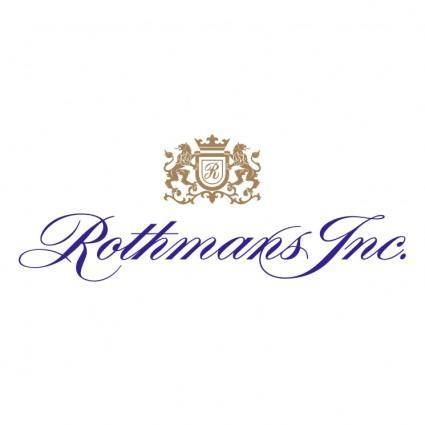 free vector Rothmans inc