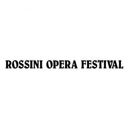 Rossini opera festival 1