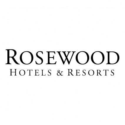 free vector Rosewood hotel resorts