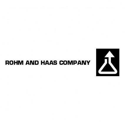 Rohm and haas company