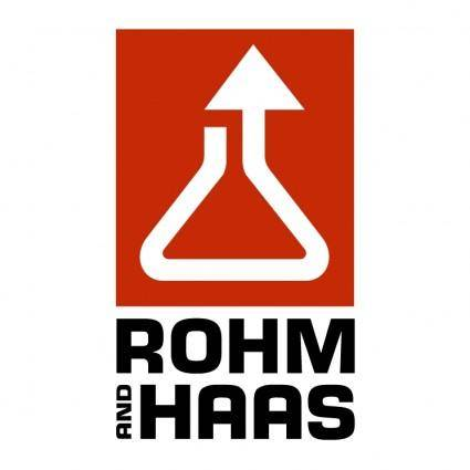 free vector Rohm and haas 0