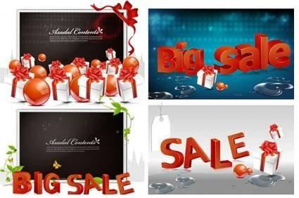 free vector Big sale theme vector