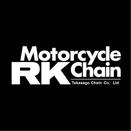 free vector Rk motorcycle chain
