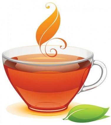 free vector A cup of tea vector