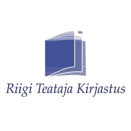 free vector Riigi teataja kirjastus