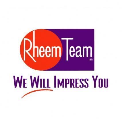 free vector Rheem team