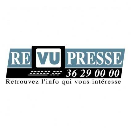 Revu presse