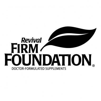 Revival firm foundation