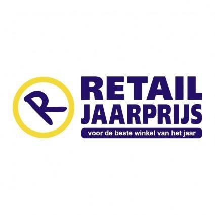 free vector Retail jaarprijs