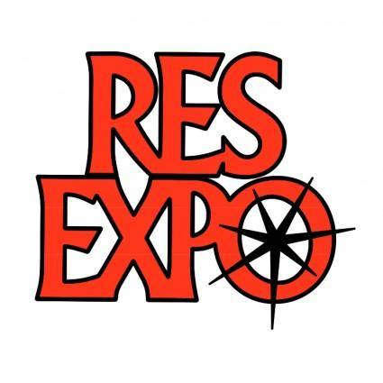 free vector Resexpo