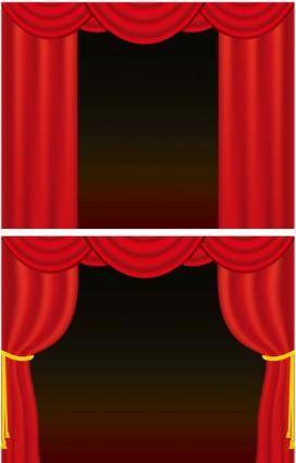 free vector Curtain vector