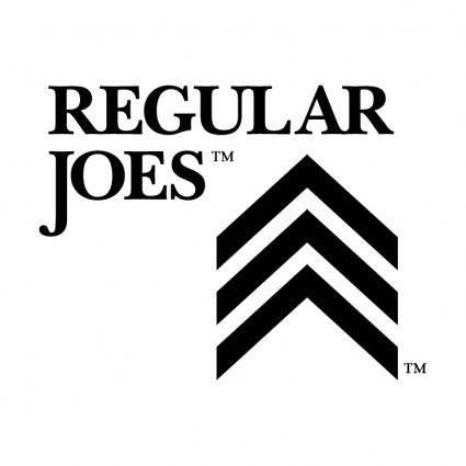 Regular joes