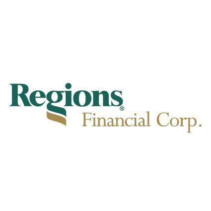 free vector Regions financial corp
