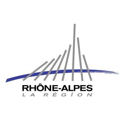 free vector Region rhone alpes 0