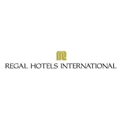 free vector Regal hotel international
