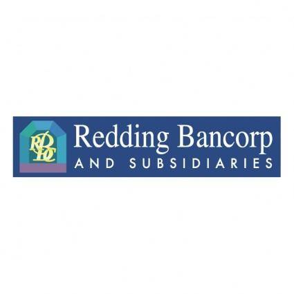 free vector Redding bancorp and subsidiares