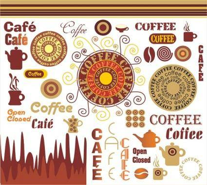 free vector Coffee vector art