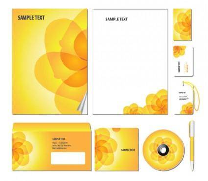 free vector The trend of packaging cover design 01 vector
