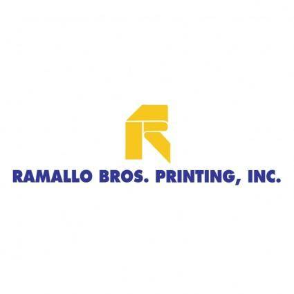 free vector Ramallo bros printing