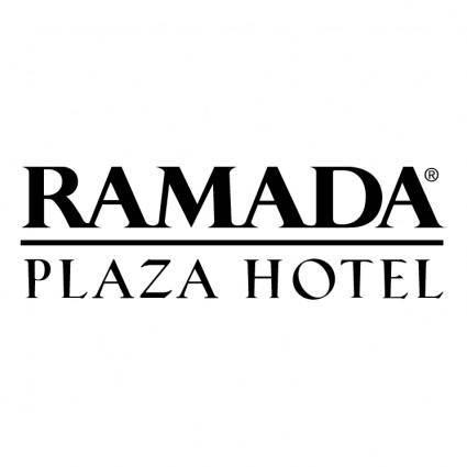 free vector Ramada plaza hotel