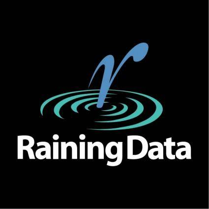free vector Raining data