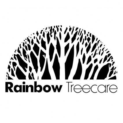 free vector Rainbow treecare