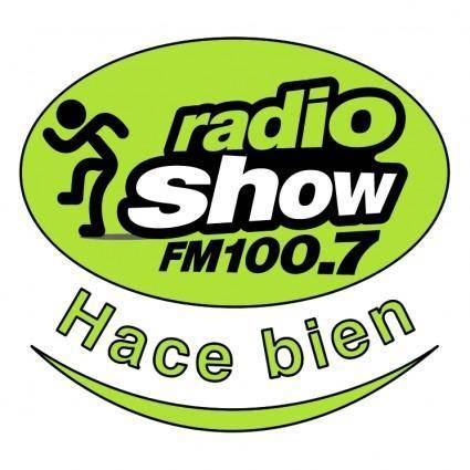 free vector Radio show