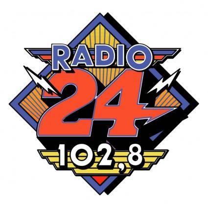 free vector Radio 24