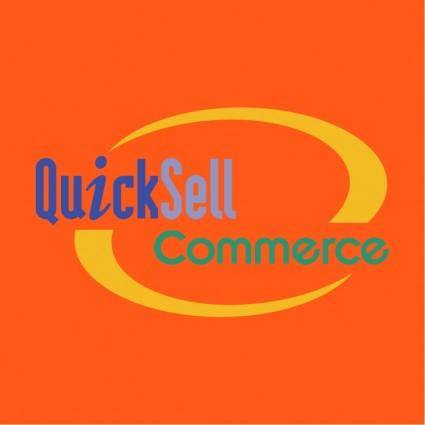 free vector Quicksell commerce