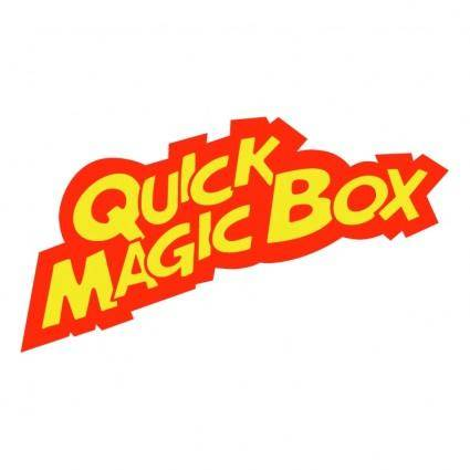 free vector Quick magic box