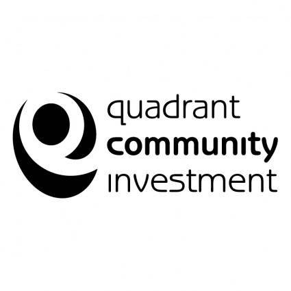 free vector Quadrant community investment