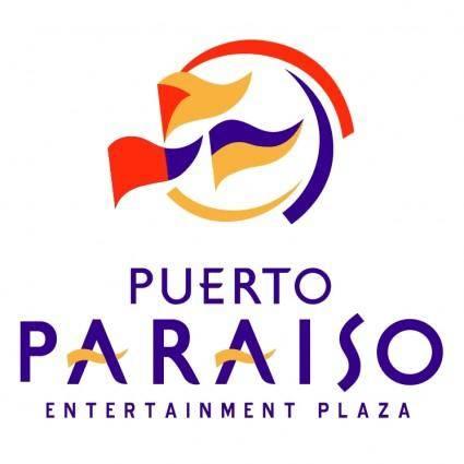 free vector Puerto paraiso