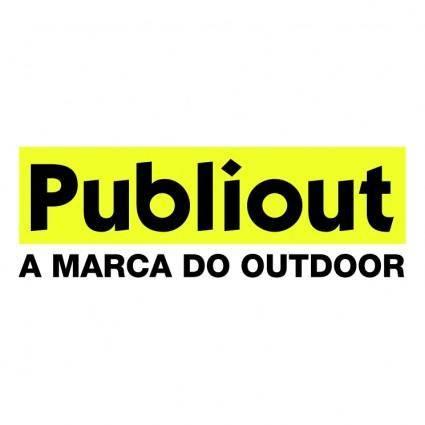 free vector Publiout publicidade