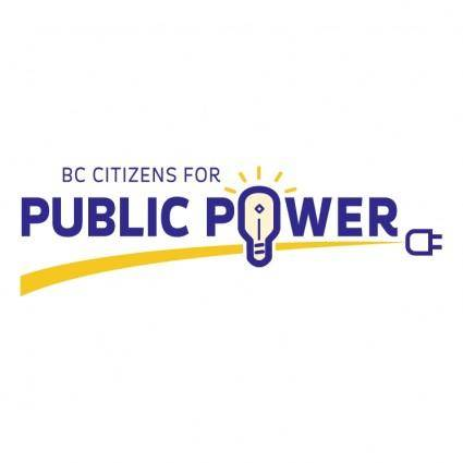 free vector Public power
