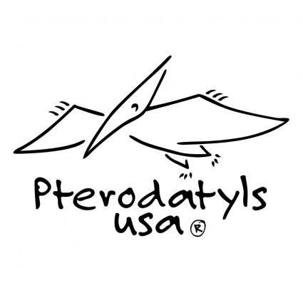 free vector Pterodatyls usa