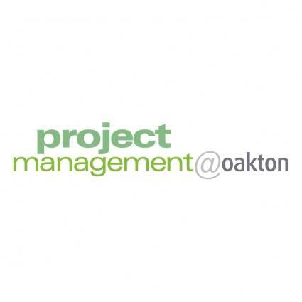 Project managementoakton