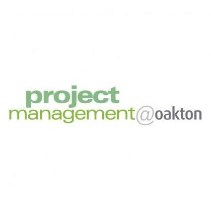 free vector Project managementoakton
