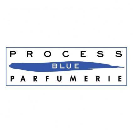 free vector Process blue parfumerie