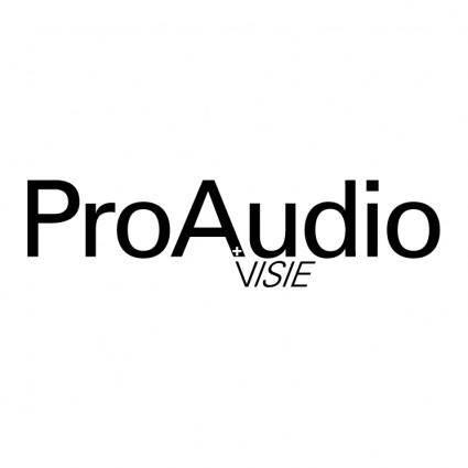 free vector Proaudio visie
