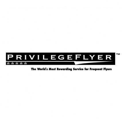 Privilegeflyer