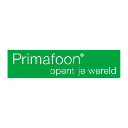 free vector Primafoon