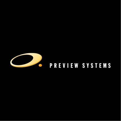 Preview systems 0