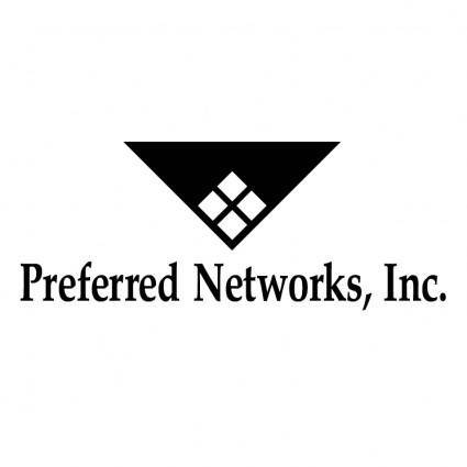 free vector Preferred networks