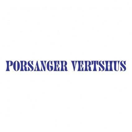 free vector Porsanger vertshus