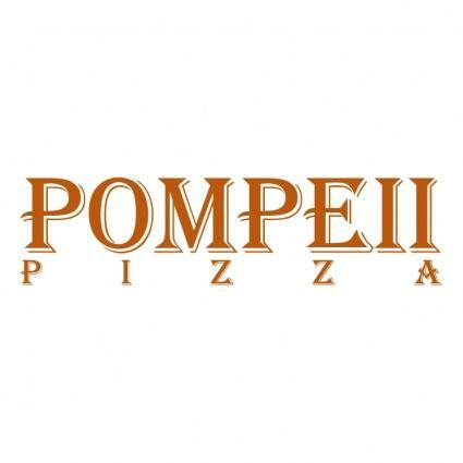 free vector Pompeii pizza