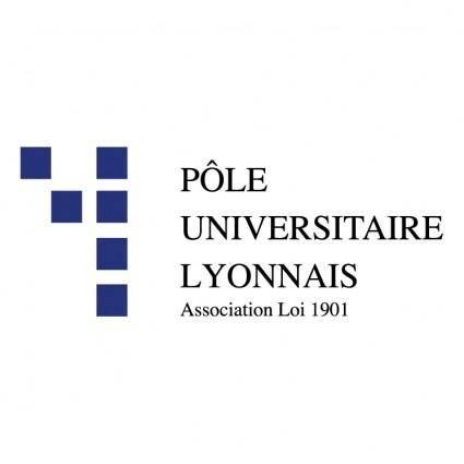 free vector Pole universitaire lyonnais