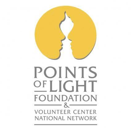 free vector Points of light foundation volunteer center national network