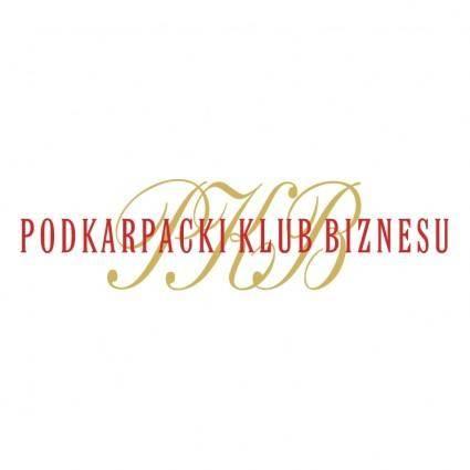 free vector Podkarpacki klub biznesu