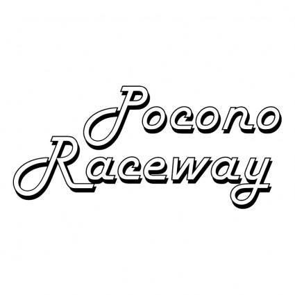 free vector Pocono raceway